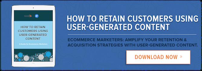 Amplifica le tue strategie di conservazione e acquisizione con la potenza dei contenuti generati dagli utenti.