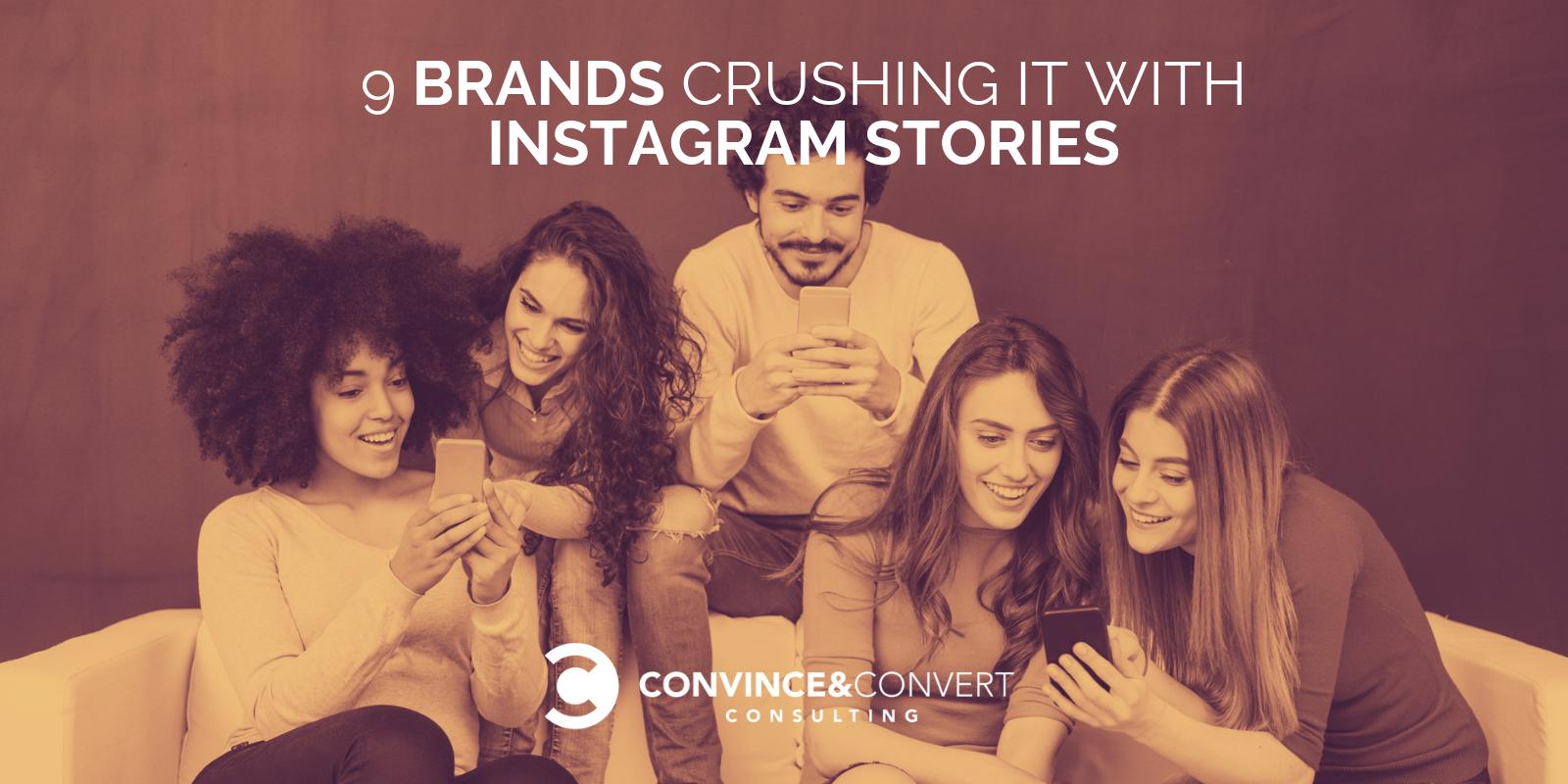 marchi che usano storie di instagram