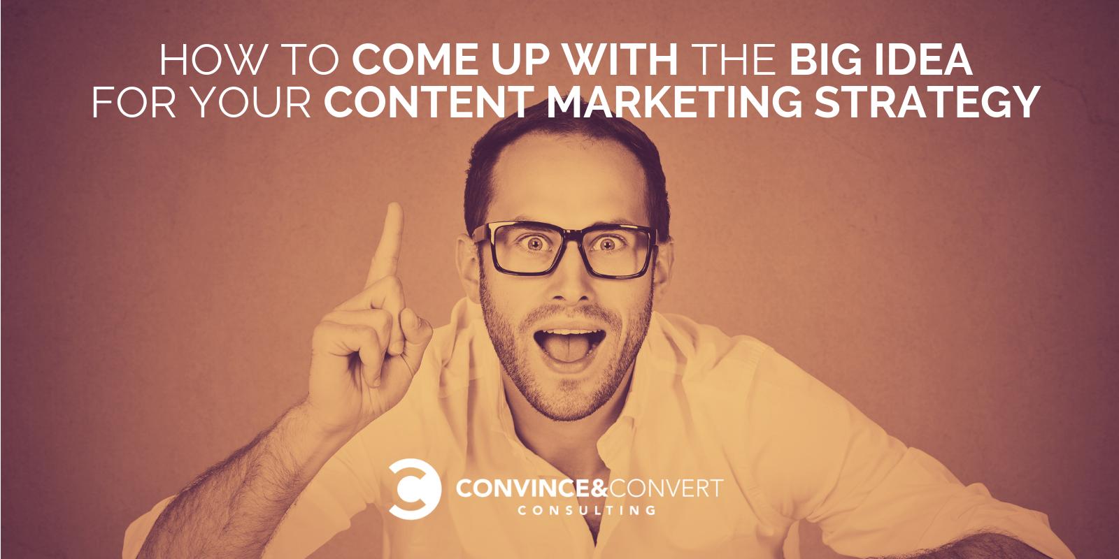 grande idea di marketing dei contenuti