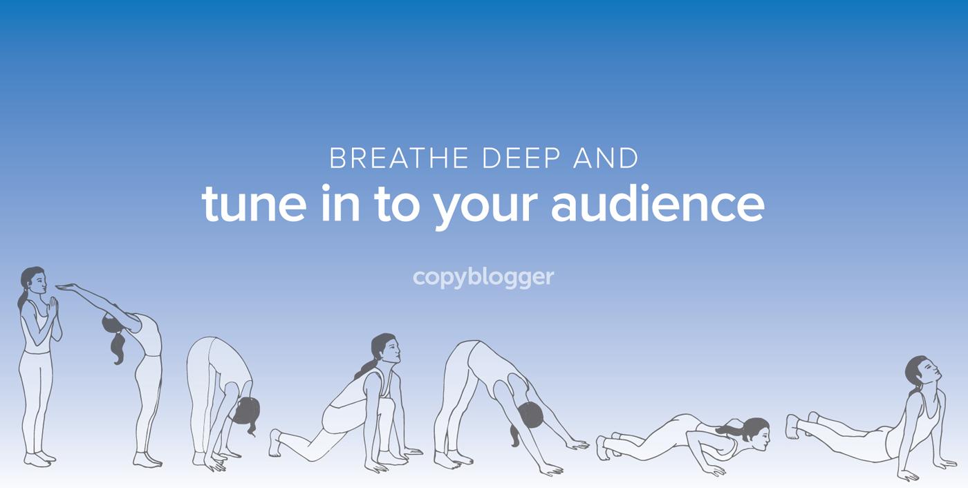 Respirare profondamente e sintonizzarsi con il pubblico