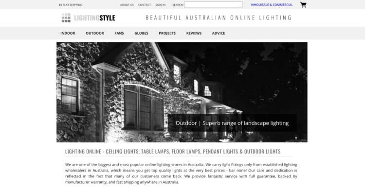stile innovativo di illuminazione di marchi di e-commerce