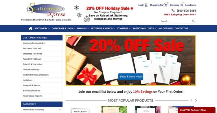 marchi di e-commerce innovativi stationeryxpress