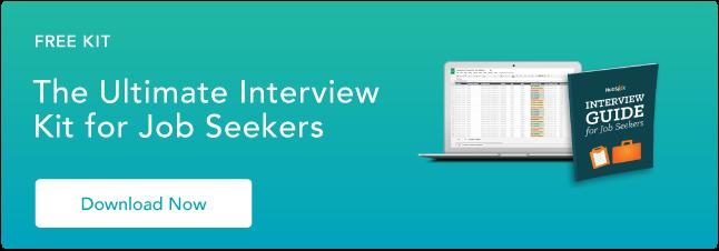 Kit di interviste per persone in cerca di lavoro
