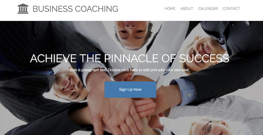 Sito web di Business Coaching realizzato con WebStarts