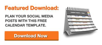 Template gratuito di social media