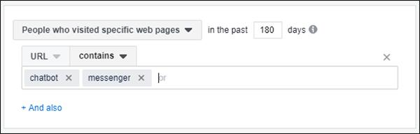 fare di facebook un pubblico personalizzato specifico