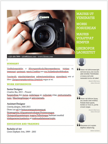 "Modello di curriculum del fotografo per MS Word con spazio per consigli e raccomandazioni ""srcset ="" https://blog.hubspot.com/hs-fs/hubfs/resume%20template%20with%20personal%20endorsements-2.png?t=1542340765437&width= 180 & height = 240 & name = resume% 20template% 20with% 20personal% 20endorsements-2.png 180w, https://blog.hubspot.com/hs-fs/hubfs/resume%20template%20with%20personal%20endorsements-2.png?t = 1542340765437 & width = 360 & height = 480 & name = resume% 20template% 20with% 20personal% 20endorsements-2.png 360w, https://blog.hubspot.com/hs-fs/hubfs/resume%20template%20with%20personal%20endorsements-2. png? t = 1542340765437 & width = 540 & height = 720 & name = resume% 20template% 20with% 20personal% 20endorsements-2.png 540w, https://blog.hubspot.com/hs-fs/hubfs/resume%20template%20with%20personal%20endorsements -2.png? T = 1542340765437 & width = 720 & height = 960 & name = resume% 20template% 20with% 20personal% 20endorsements-2.png 720w, https://blog.hubspot.com/hs-fs/hubfs/resume%20template%20with% % 20endorsements-2.png 20personal? t = 15.423.407 65437 & width = 900 & height = 1200 & name = resume% 20template% 20with% 20personal% 20endorsements-2.png 900w, https://blog.hubspot.com/hs-fs/hubfs/resume%20template%20with%20personal%20endorsements-2.png ? t = 1542340765437 & width = 1080 & height = 1440 & name = resume% 20template% 20with% 20personal% 20endorsements-2.png 1080w ""sizes ="" (larghezza massima: 360px) 100vw, 360px"