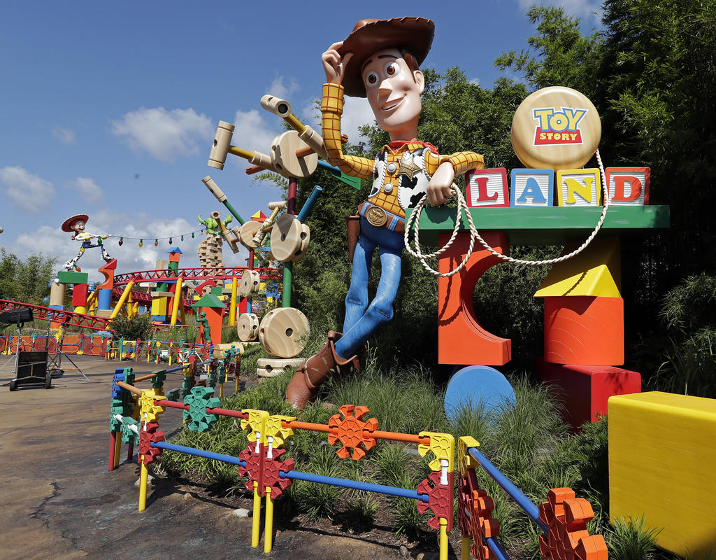 Anteprima di Toy Story Land