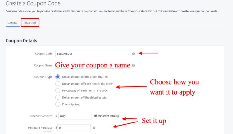 codice coupon per l'ottimizzazione del tasso di conversione 2018