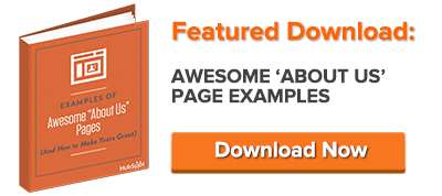 get awesome about us page examples