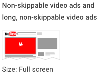 "youtube-non-skippable-video-ads-2.png"" width=""350"" title=""youtube-non-skippable-video-ads-2.png"" caption=""false"" data-constrained=""true"" srcset=""https://blog.hubspot.com/hs-fs/hubfs/youtube-non-skippable-video-ads-2.png?t=1542772607057&width=175&name=youtube-non-skippable-video-ads-2.png 175w, https://blog.hubspot.com/hs-fs/hubfs/youtube-non-skippable-video-ads-2.png?t=1542772607057&width=350&name=youtube-non-skippable-video-ads-2.png 350w, https://blog.hubspot.com/hs-fs/hubfs/youtube-non-skippable-video-ads-2.png?t=1542772607057&width=525&name=youtube-non-skippable-video-ads-2.png 525w, https://blog.hubspot.com/hs-fs/hubfs/youtube-non-skippable-video-ads-2.png?t=1542772607057&width=700&name=youtube-non-skippable-video-ads-2.png 700w, https://blog.hubspot.com/hs-fs/hubfs/youtube-non-skippable-video-ads-2.png?t=1542772607057&width=875&name=youtube-non-skippable-video-ads-2.png 875w, https://blog.hubspot.com/hs-fs/hubfs/youtube-non-skippable-video-ads-2.png?t=1542772607057&width=1050&name=youtube-non-skippable-video-ads-2.png 1050w"" sizes=""(max-width: 350px) 100vw, 350px"