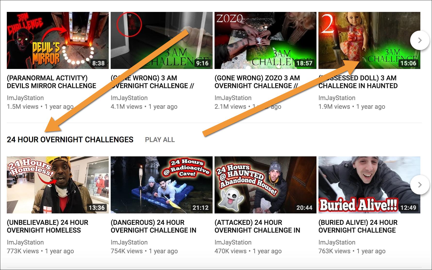 miniatura di YouTube accattivante