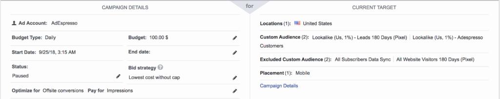 Miglior esperimento di formato degli annunci video di Facebook: configurazione dell'esperimento