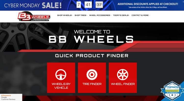 Cyber Week BB Wheels