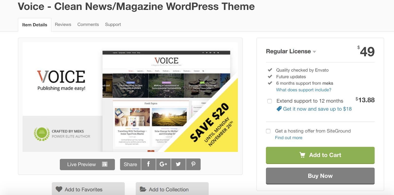 voice-wordpress-tema