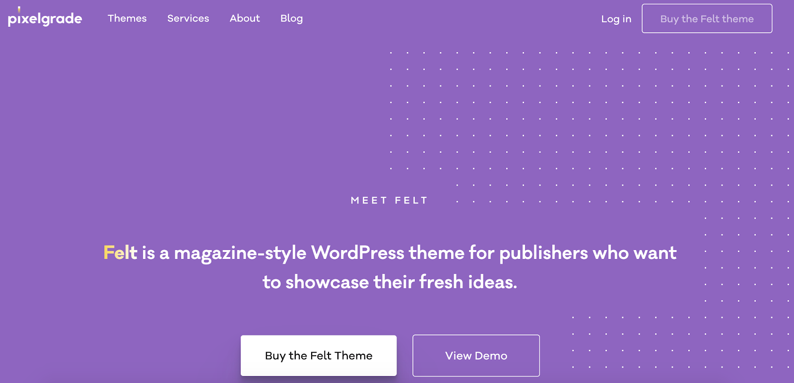 felt-wordpress-tema