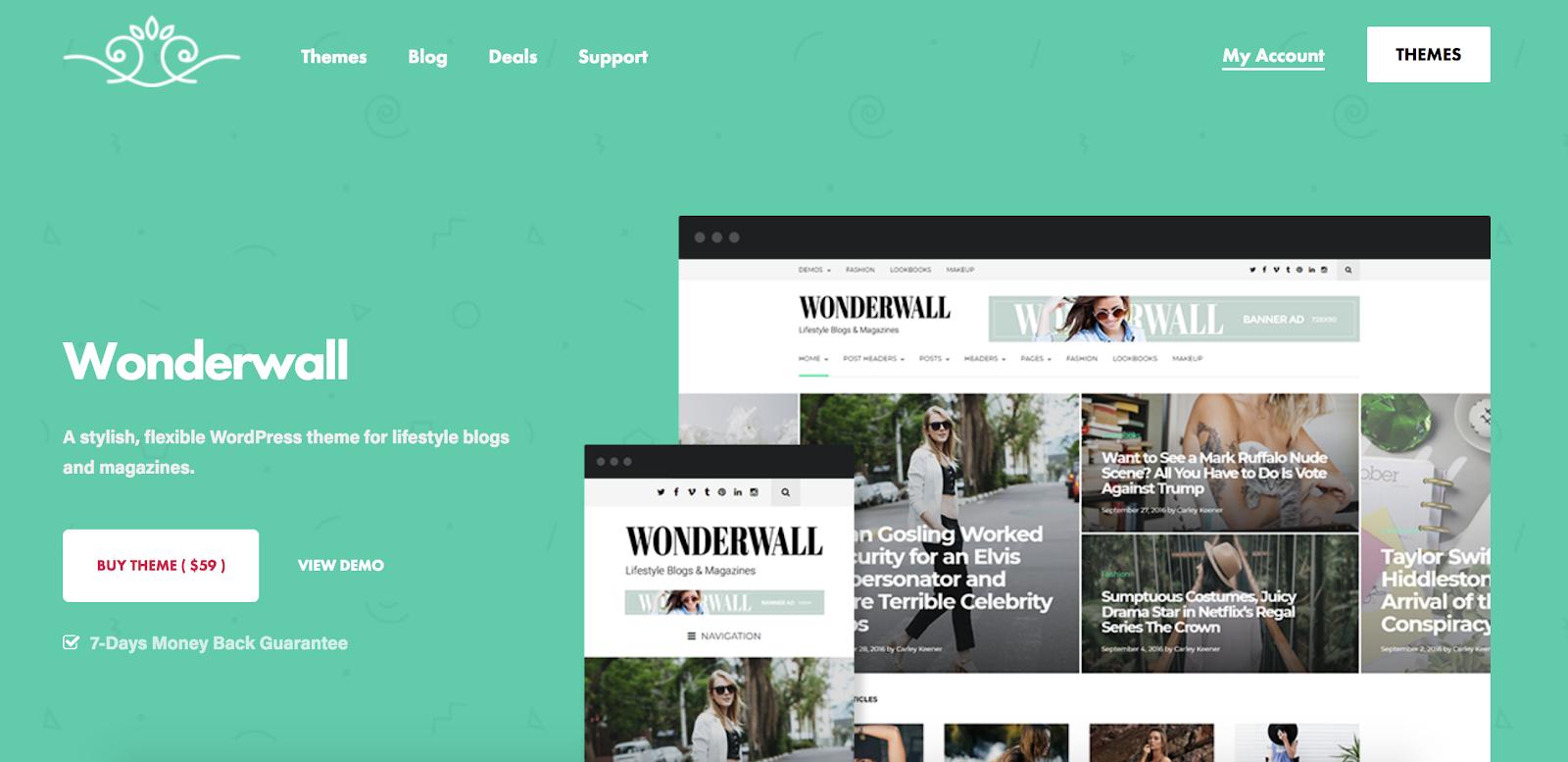 Wonderwall-wordpress-tema