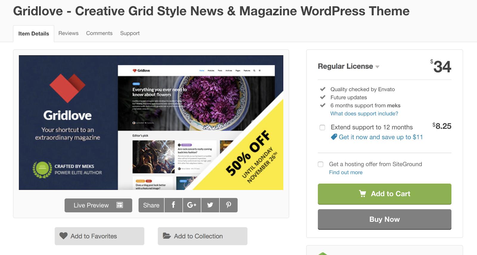 gridlove-wordpress-tema