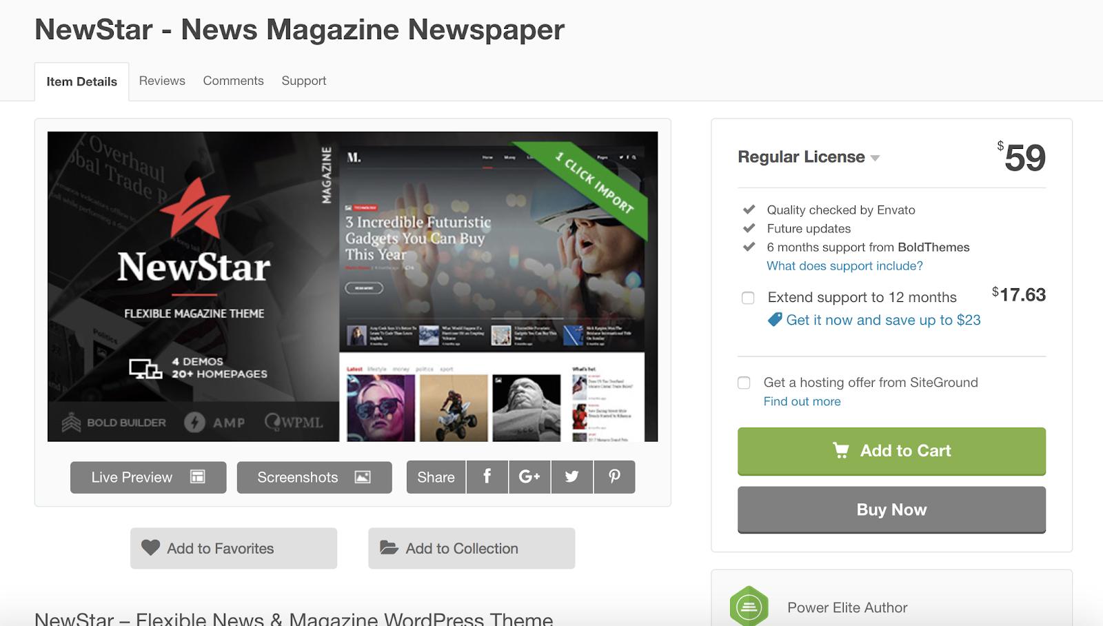Newstar-wordpress-tema