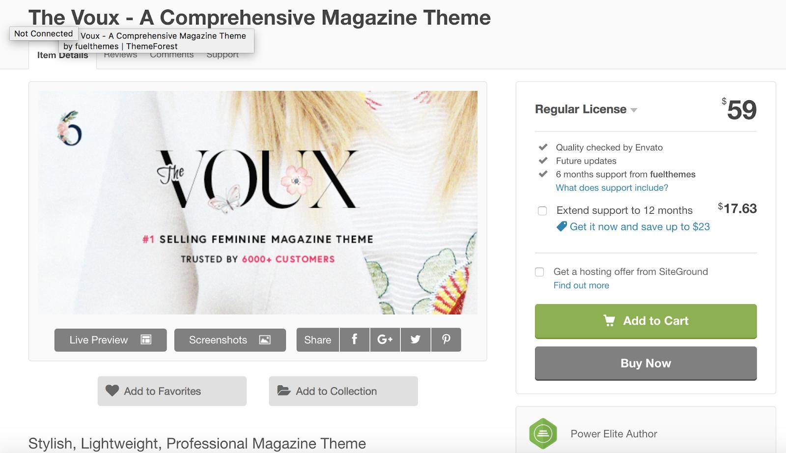 the-Voux-wordpress-tema