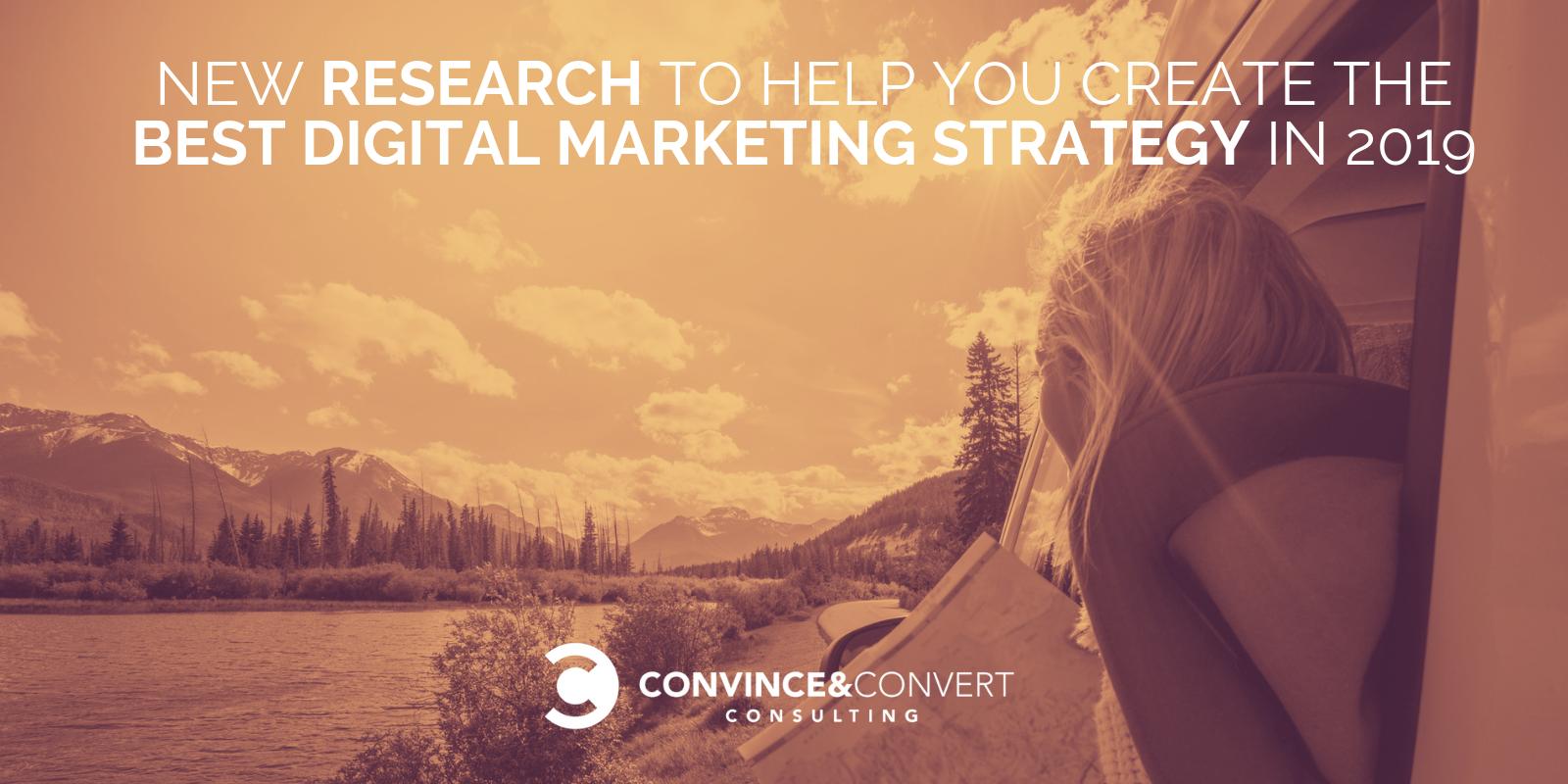 ricerca di marketing digitale 2019