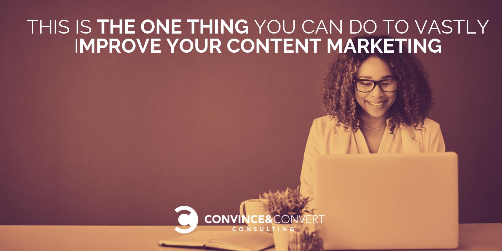 migliorare notevolmente il marketing dei contenuti