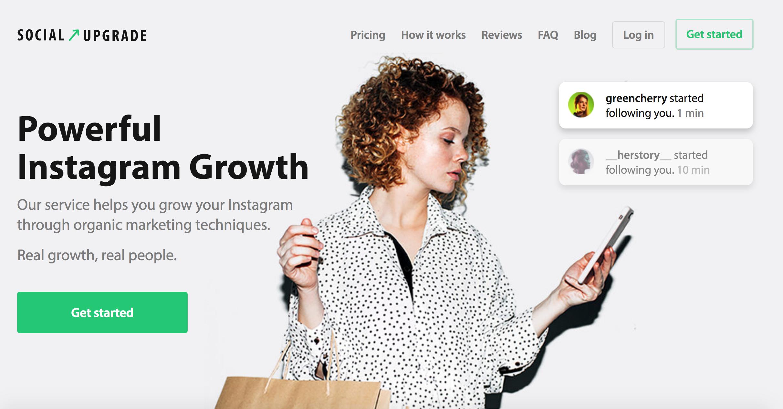 Recensione di SocialUpgrade: potente crescita di Instagram