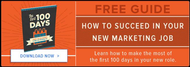 come avere successo nel tuo nuovo lavoro di marketing