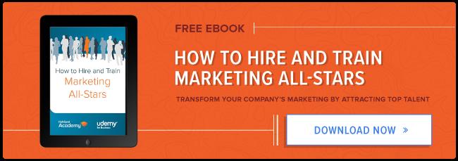 impara come assumere un team di marketing all-star