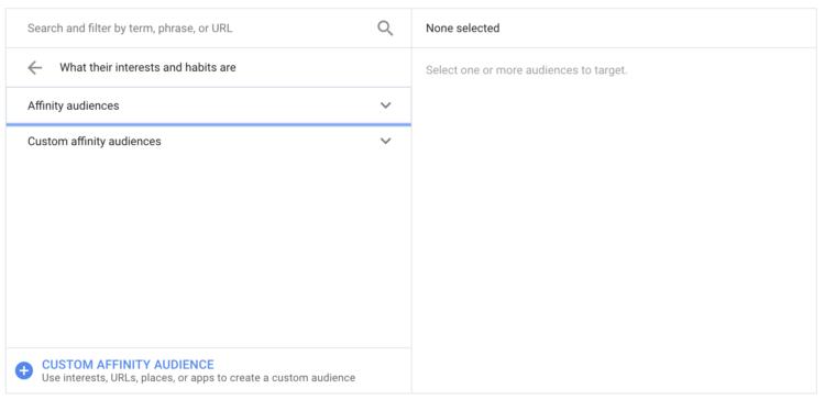 Opzioni di targeting di YouTube 02