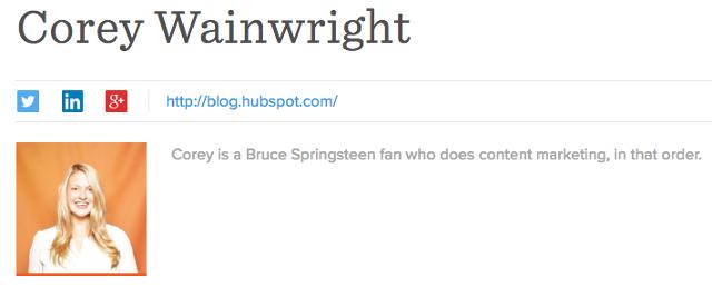 "La biografia professionale di Corey Wrainwright come blog byline per HubSpot ""width ="" 640 ""caption ="" false ""data-constrained ="" true ""style ="" width: 640px; ""srcset ="" https://blog.hubspot.com/hs -fs / hubfs / corey-wainwright-bio.png? width = 320 & name = corey-wainwright-bio.png 320w, https://blog.hubspot.com/hs-fs/hubfs/corey-wainwright-bio.png? width = 640 & name = corey-wainwright-bio.png 640w, https://blog.hubspot.com/hs-fs/hubfs/corey-wainwright-bio.png?width=960&name=corey-wainwright-bio.png 960w, https://blog.hubspot.com/hs-fs/hubfs/corey-wainwright-bio.png?width=1280&name=corey-wainwright-bio.png 1280w, https://blog.hubspot.com/hs-fs /hubfs/corey-wainwright-bio.png?width=1600&name=corey-wainwright-bio.png 1600w, https://blog.hubspot.com/hs-fs/hubfs/corey-wainwright-bio.png?width= 1920 & name = corey-wainwright-bio.png 1920w ""sizes ="" (larghezza massima: 640px) 100vw, 640px"
