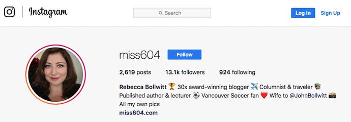 "La biografia professionale di Miss604 su Instagram ""width ="" 690 ""height ="" 241 ""style ="" width: 690px; ""srcset ="" https://blog.hubspot.com/hs-fs/hubfs/miss604-instagram-professional-bio .png? width = 345 & height = 121 & name = miss604-instagram-professional-bio.png 345w, https://blog.hubspot.com/hs-fs/hubfs/miss604-instagram-professional-bio.png?width=690&height= 241 e nome = miss604-instagram-professional-bio.png 690w, https://blog.hubspot.com/hs-fs/hubfs/miss604-instagram-professional-bio.png?width=1035&height=362&name=miss604-instagram-professional -bio.png 1035w, https://blog.hubspot.com/hs-fs/hubfs/miss604-instagram-professional-bio.png?width=1380&height=482&name=miss604-instagram-professional-bio.png 1380w, https : //blog.hubspot.com/hs-fs/hubfs/miss604-instagram-professional-bio.png? width = 1725 & height = 603 & name = miss604-instagram-professional-bio.png 1725w, https: //blog.hubspot. com / hs-fs / hubfs / miss604-instagram-professional-bio.png? width = 2070 & height = 723 & name = miss604-instagram-professional-bio.png 2070w ""sizes ="" (max-wi dth: 690px) 100vw, 690px"