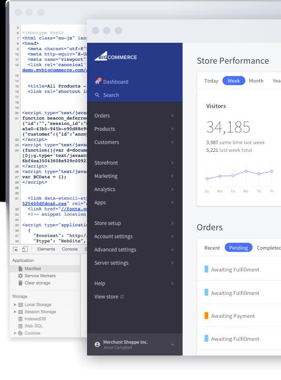 bigcommerce per i vantaggi di wordpress per gli sviluppatori