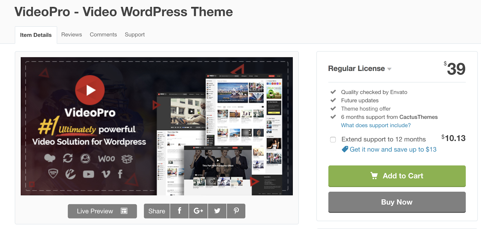VideoPro-wordpress-tema