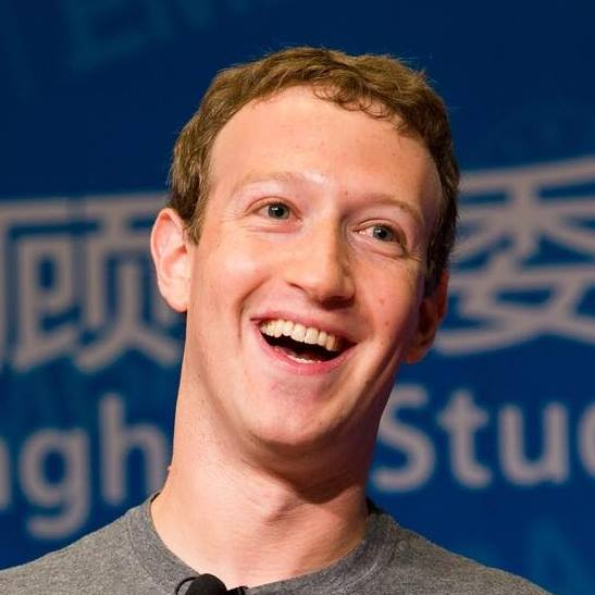 Mark Zuckerberg tramite Faebook