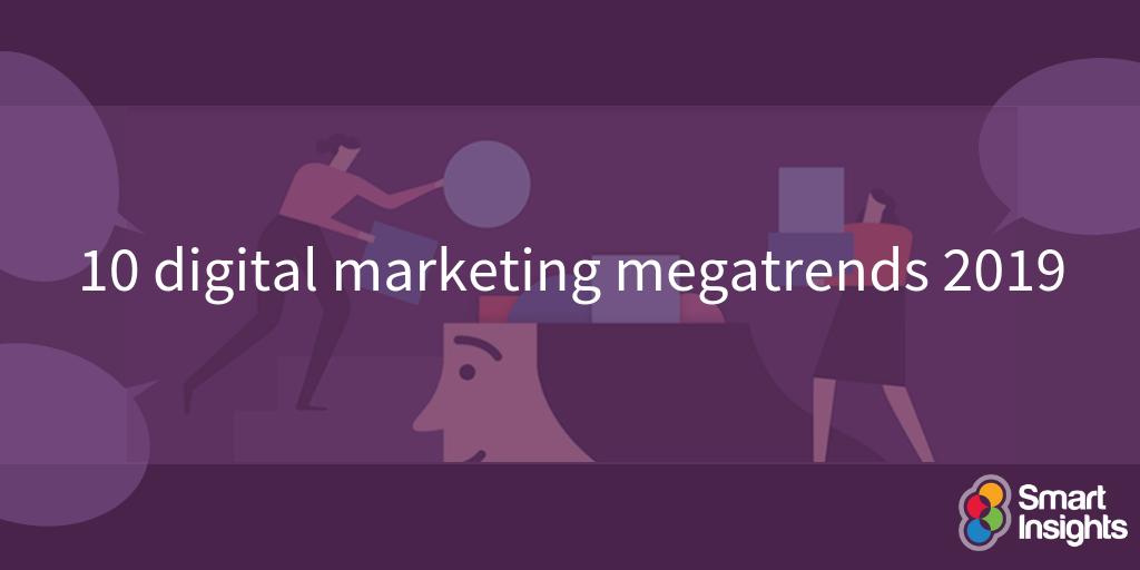 10 megatrends di marketing digitale 2019