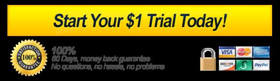una prova gratuita di un dollaro