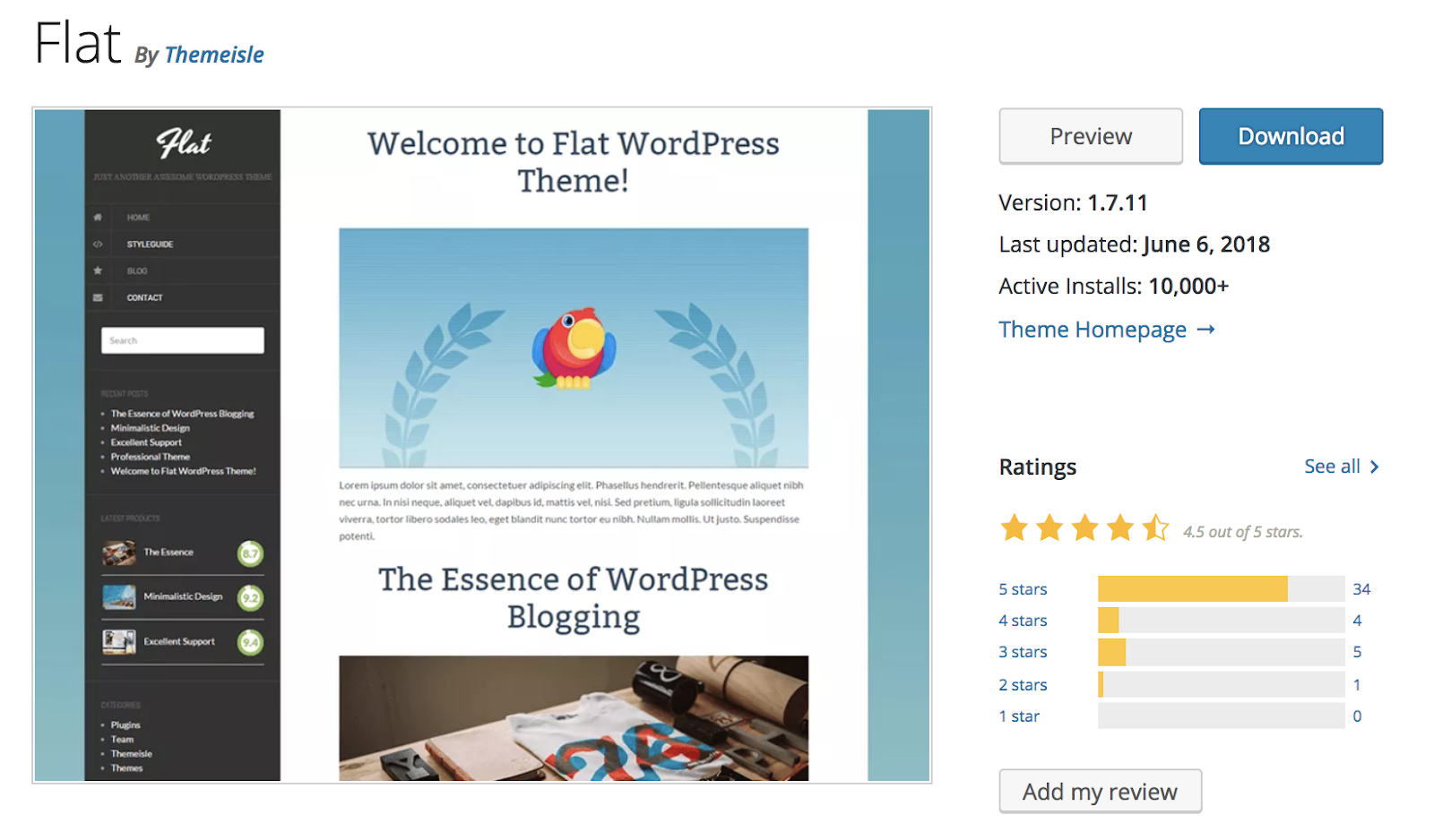 piatta-wordpress-tema