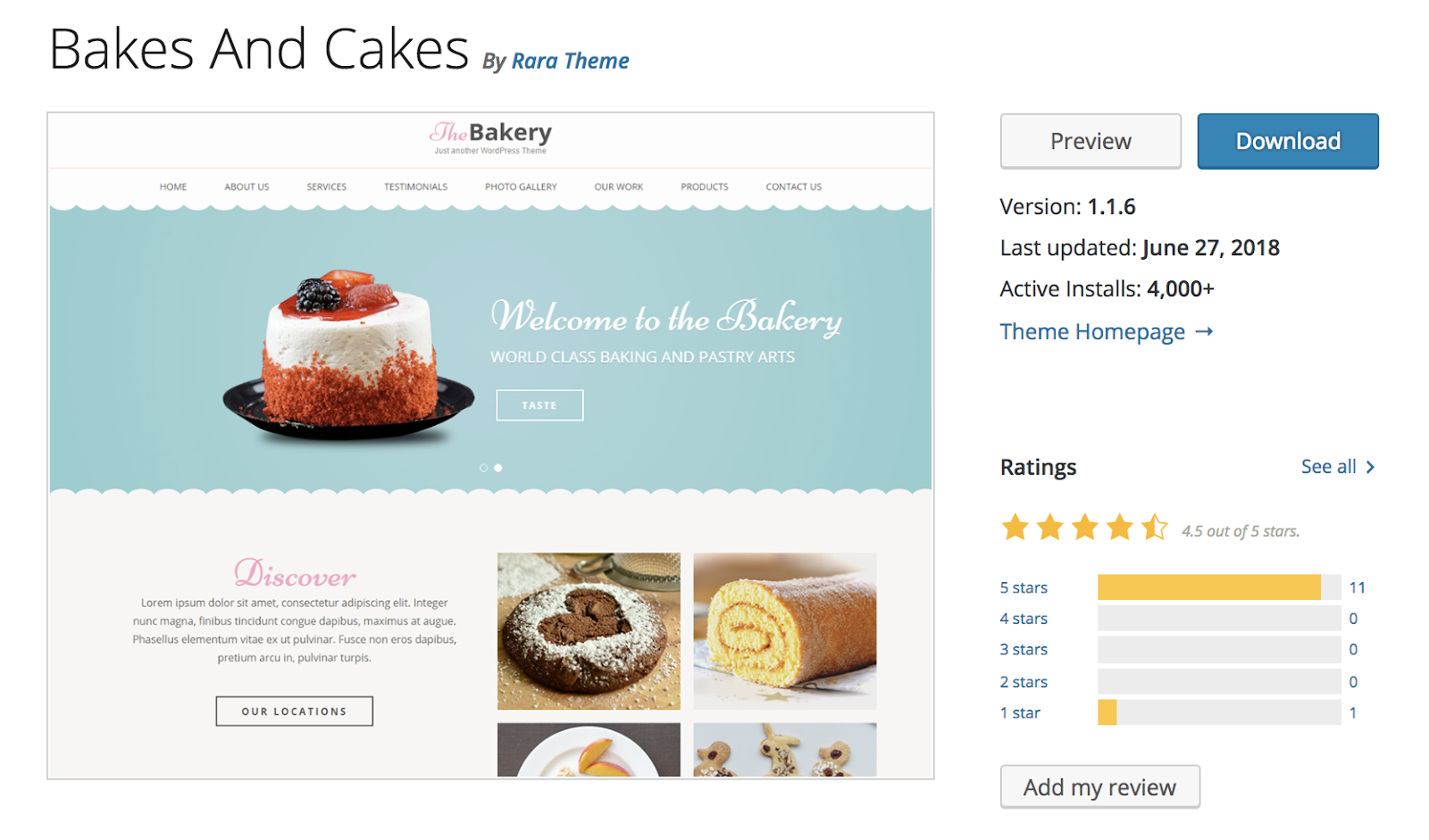 cuoce-and-cakes-wordpress-tema