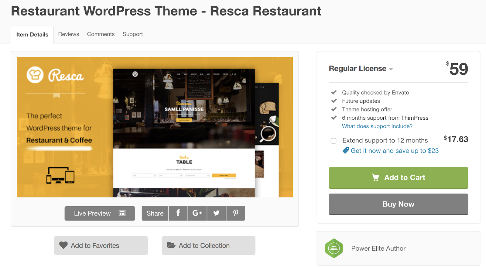 Resca-wordpress-tema