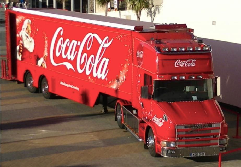 Camion di Natale Coca-Cola