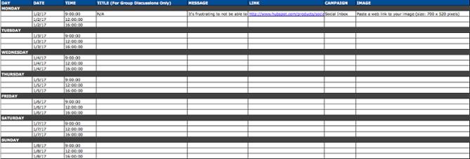 """Modello di calendario dei social media per il contenuto di LinkedIn """"title ="""" social-media-calendar-linkedin-updates.png """"width ="""" 669 """"height ="""" 227 """"srcset ="""" https://blog.hubspot.com/hs-fs/ hubfs / social-media-calendar-linkedin-updates.png? width = 335 & height = 114 & name = social-media-calendar-linkedin-updates.png 335w, https://blog.hubspot.com/hs-fs/hubfs/social -media-calendar-linkedin-updates.png? width = 669 & height = 227 & name = social-media-calendar-linkedin-updates.png 669w, https://blog.hubspot.com/hs-fs/hubfs/social-media- calendar-linkedin-updates.png? width = 1004 & height = 341 & name = social-media-calendar-linkedin-updates.png 1004w, https://blog.hubspot.com/hs-fs/hubfs/social-media-calendar-linkedin -updates.png? width = 1338 & height = 454 & name = social-media-calendar-linkedin-updates.png 1338w, https://blog.hubspot.com/hs-fs/hubfs/social-media-calendar-linkedin-updates. png? width = 1673 & height = 568 & name = social-media-calendar-linkedin-updates.png 1673w, https://blog.hubspot.com/hs-fs/hubfs/social-media-calendar-linkedin-updates.png?wi dth = 2007 & height = 681 & name = social-media-calendar-linkedin-updates.png 2007w """"sizes ="""" (larghezza massima: 669px) 100vw, 669px"""
