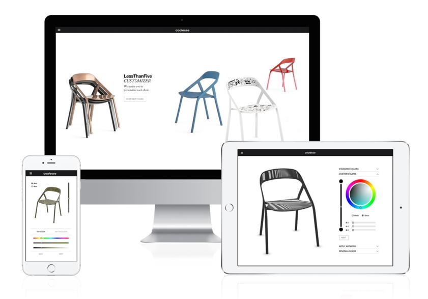 sito di e-commerce su diversi dispositivi