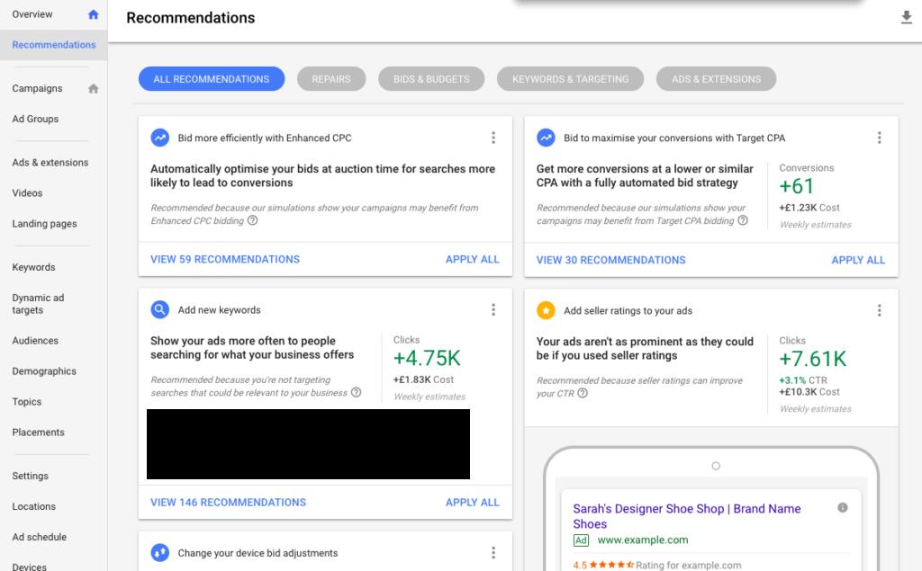 Come utilizzare i suggerimenti degli annunci di Google per migliorare la conversione