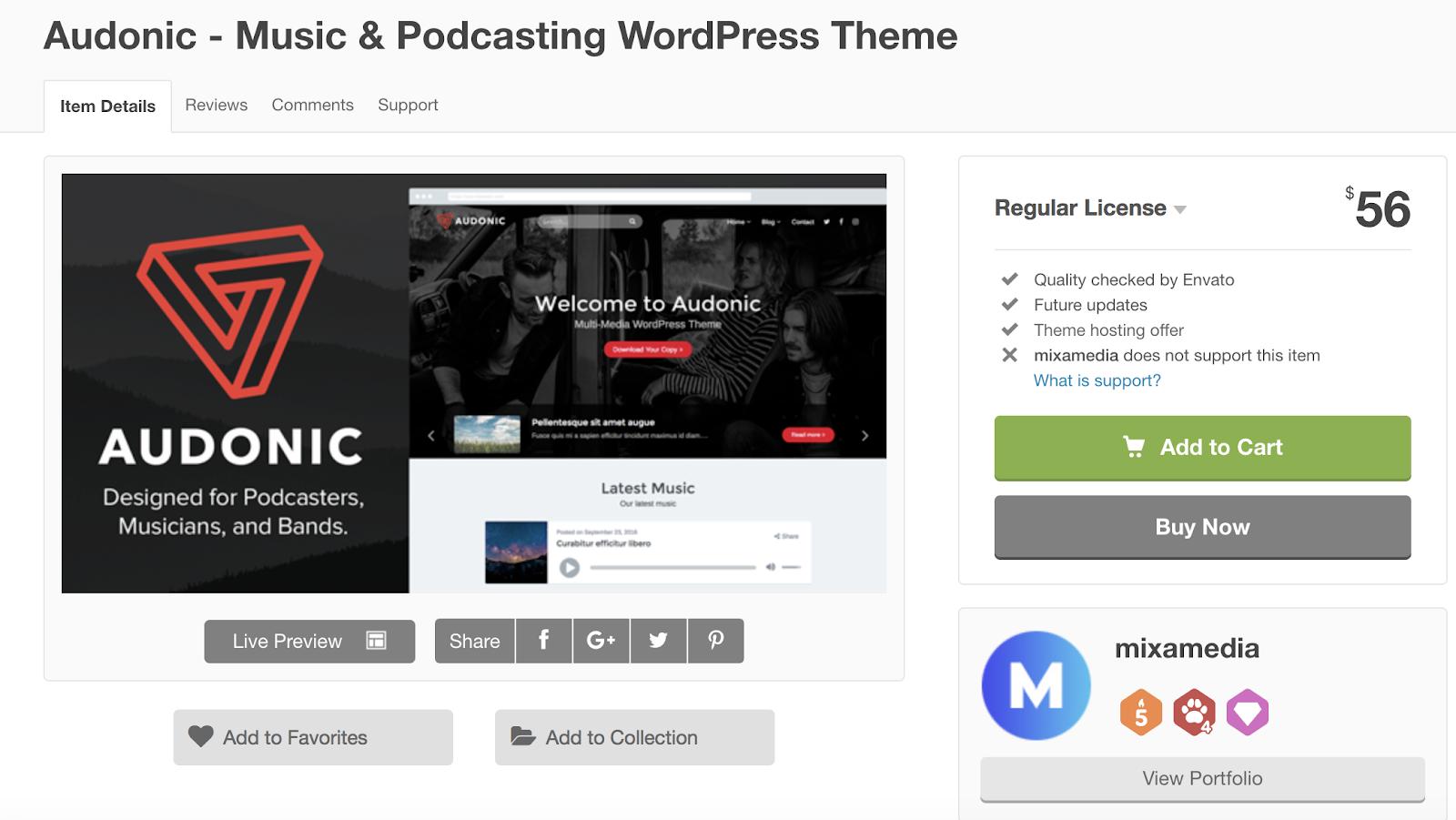 audonic-wordpress-tema