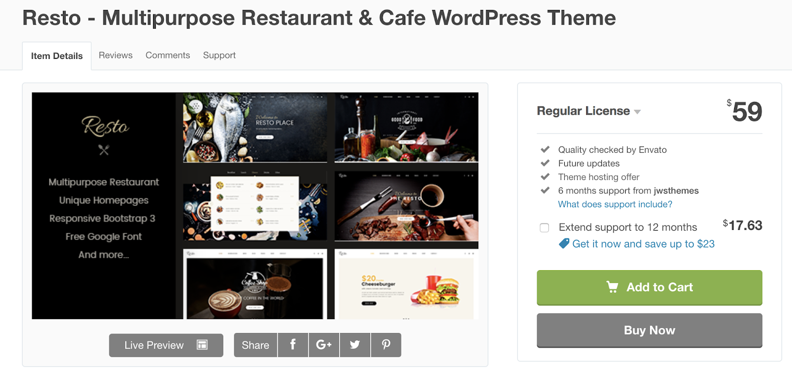 resto-wordpress-tema