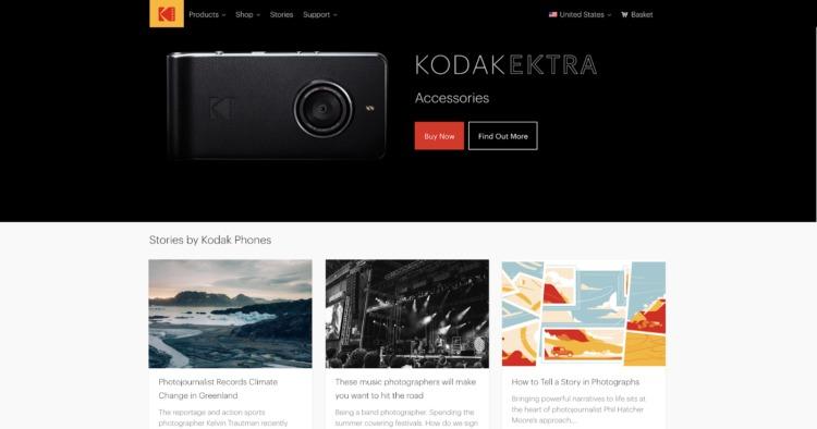 sviluppo del front-end kodak front end