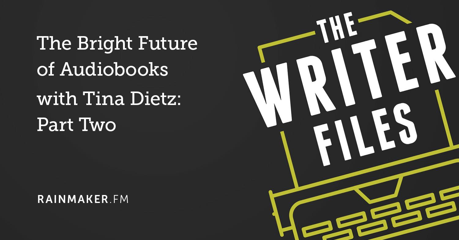 Il brillante futuro degli audiolibri con Tina Dietz: seconda parte
