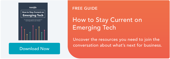 Rimani aggiornato sulla tecnologia emergente