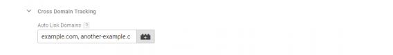 screenshot dei domini di autolink